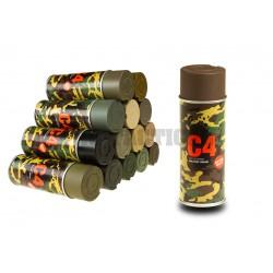 C4 Mil Grade Color Spray RAL8027