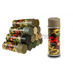 C4 Mil Grade Color Spray RAL7050