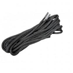 Lacets nylon noir 1m20