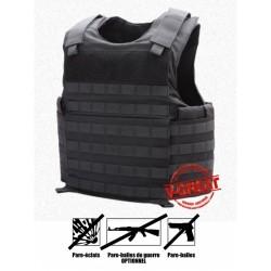 Gilet Pare-balles Tactique - Porte-plaques ANTI-AK47