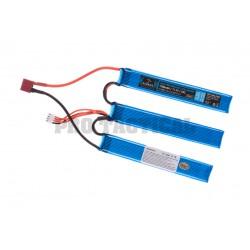 Lipo 11.1V 1300mAh 25C Split Type T-Plug