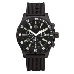 Montre Trooper Carbon Chrono