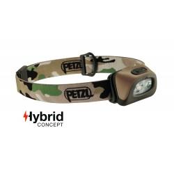Lampe frontale Hybrid éclairage 2 couleurs Tactikka + camouflage - 250 Lumens