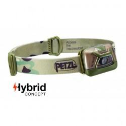 Lampe frontale Hybrid éclairage 4 couleurs Tactikka +RGB camouflage - 250 Lumens