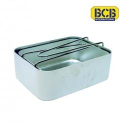 Gamelles aluminium x2