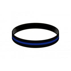 Bracelet en silicone Thin Blue Line