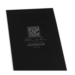 Carnet reliure 8.2 x 13.3cm Noir