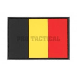 Belgium Flag Rubber Patch