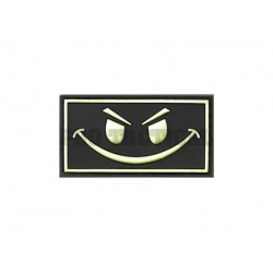 Evil Smile Rubber Patch