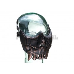 Desert Corps Half Face Mask Metallic