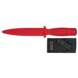 Poignard d'entraînement pro RUI 31994 rouge