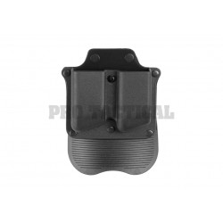 Polymer Double Pistol Mag Paddle Pouch