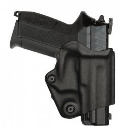 Holster vegatek short VKS804 pour droitier/gaucher Glock 17/19... noir